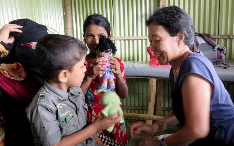 From frontline to headline, volunteer doc is no stranger to epidemics