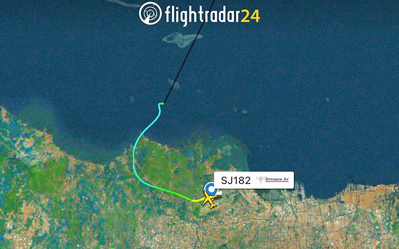Pesawat Sriwijaya Air hilang kontak selepas berlepas dari ...