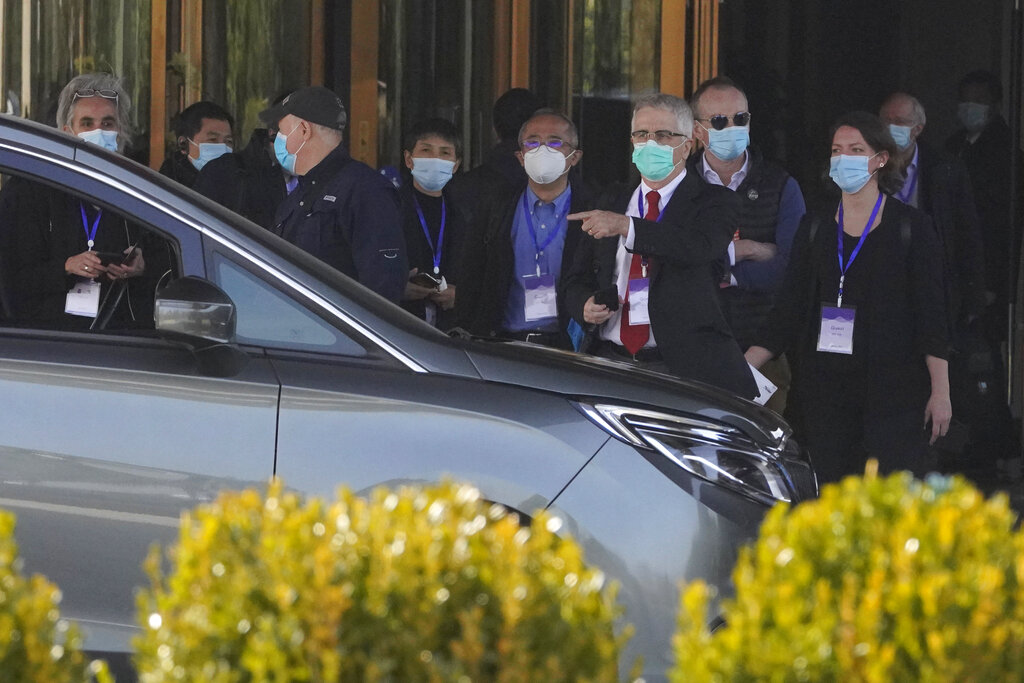 World Health Organization team begins hunt for COVID-19 origins in China after quarantine