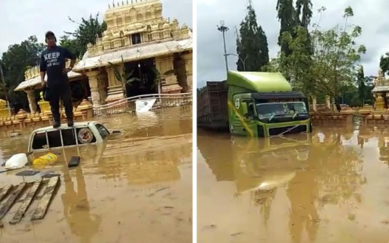 Famous Hindu Temple in Maran Under Water Again – Hindu Press International – Hindu Press International