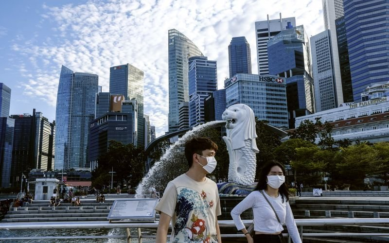 Kes harian Covid-19 naik 450 kes, Singapura lancar operasi saringan besar-besaran
