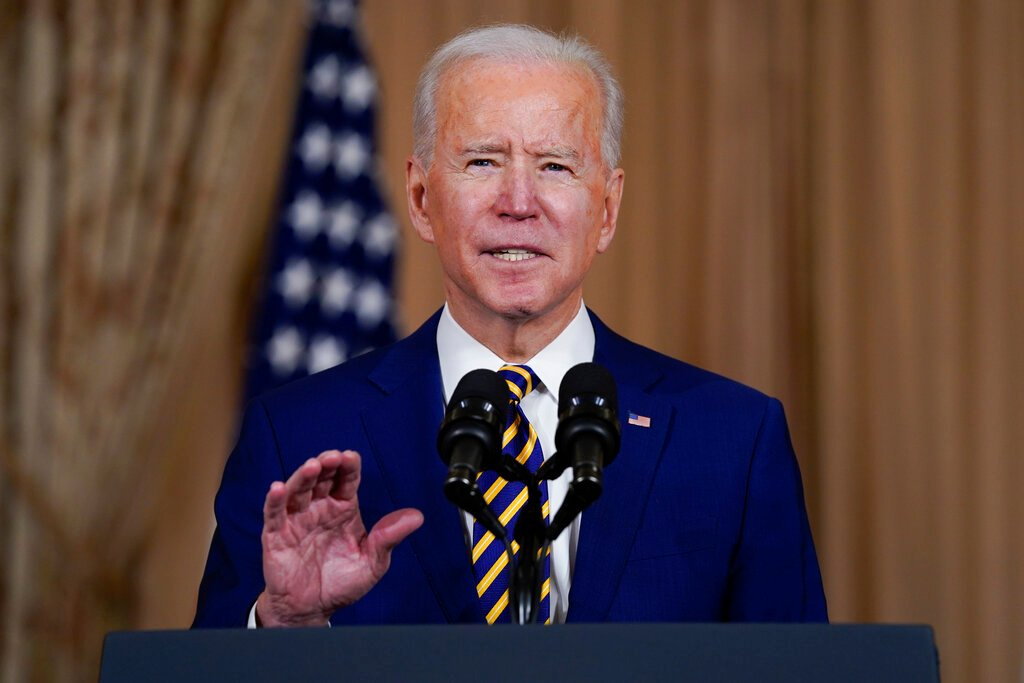 Biden urges quick Senate action on huge Covid relief package