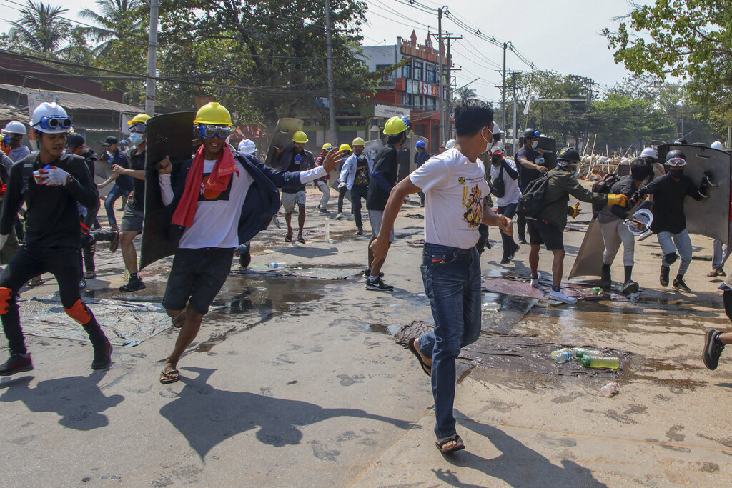 Myanmar army using battle tactics against protests - Amnesty