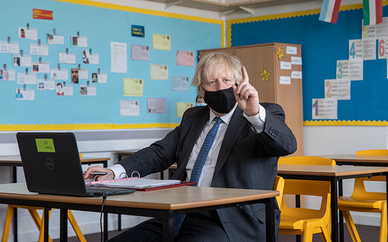 Reopening UK schools first step towards 'normality', says Boris