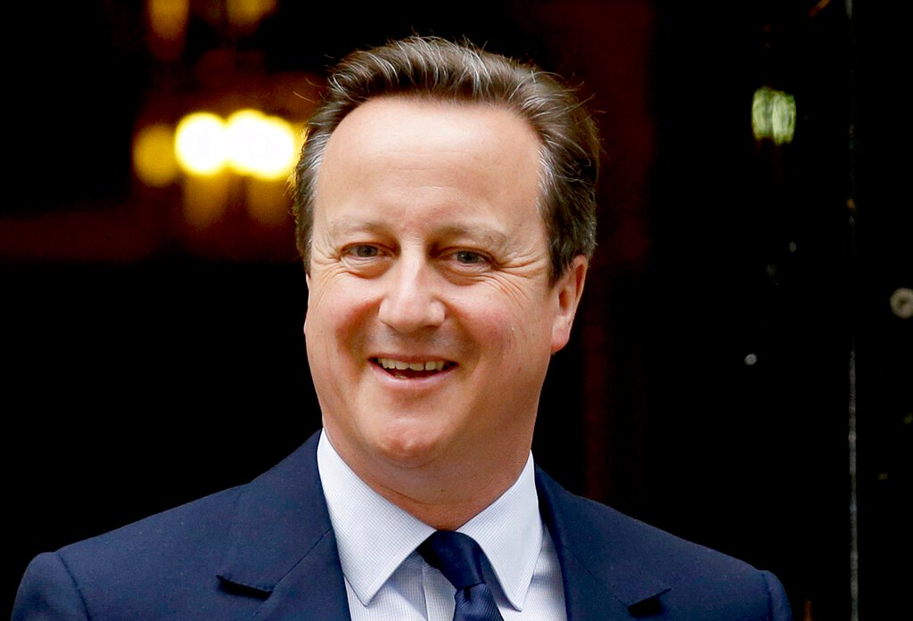 United Kingdom  officially launches probe into ex-PM Cameron's lobbying
