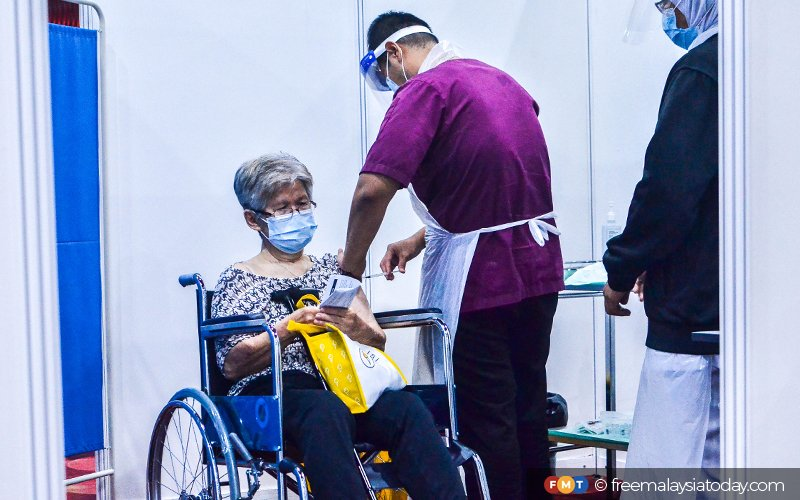 Jabs for disabled, carers to be fast-tracked via OKU Sentral | Free Malaysia Today (FMT)