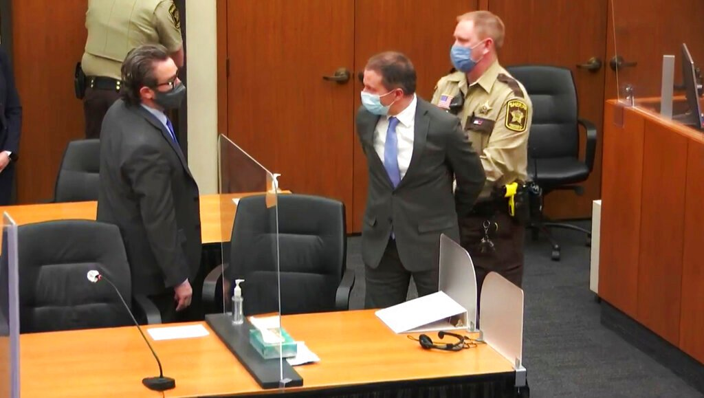 Chauvin's First Appearance in Federal Court
