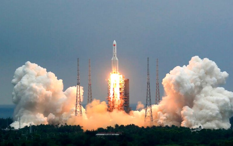 Unlikely for Chinese rocket debris to hit us, says space agency