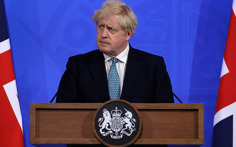 UK PM calls on G7 to aim for global vaccination