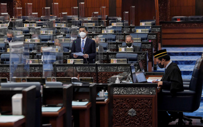 Kerusi bahagian kerajaan kosong, persidangan Dewan Rakyat tertangguh