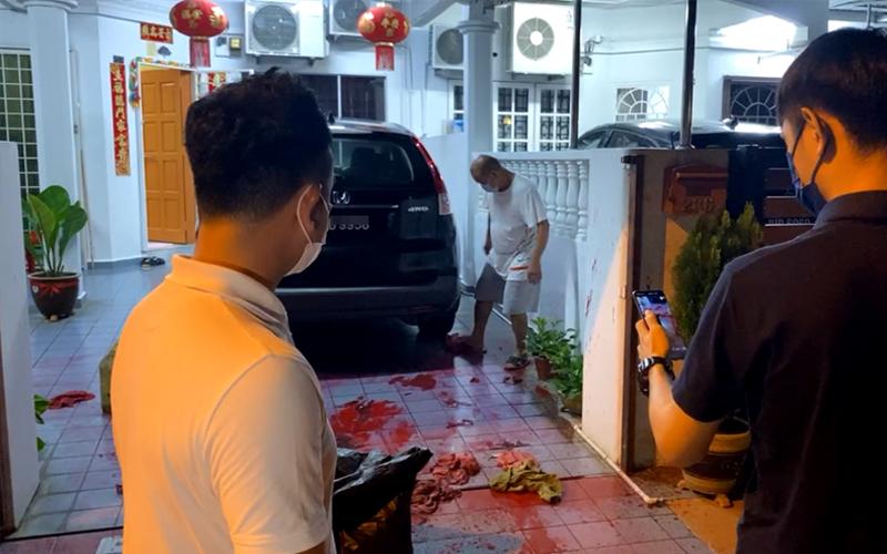 Rumah pemimpin MCA kena simbah cat merah, Ayob Khan perjelas kenapa kes itu rumit